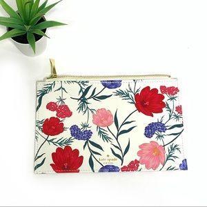 Kate Spade Floral Print Make Up Bag